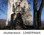 castle lichtenstein swabian jura   Shutterstock . vector #1348594664