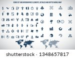 human resources icon set.... | Shutterstock .eps vector #1348657817