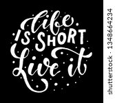 creative hand lettering...   Shutterstock .eps vector #1348664234