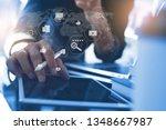 digital marketing media ...   Shutterstock . vector #1348667987