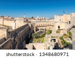 david's tower and jerusalem old ... | Shutterstock . vector #1348680971