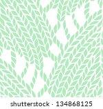 knitting pattern | Shutterstock . vector #134868125