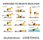 Exercise Set To Relieve Back...