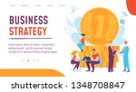 concept business strategy... | Shutterstock .eps vector #1348708847