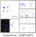the minimalistic abstract... | Shutterstock .eps vector #1348714871