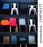 chairs on shelves | Shutterstock . vector #1348742177