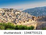 jerusalem skyline  israel | Shutterstock . vector #1348753121