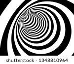 optical 3d illusion raster... | Shutterstock . vector #1348810964