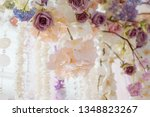 fresh flowers in a wedding... | Shutterstock . vector #1348823267
