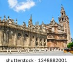 Giralda tower and Seville Cathedral, Spain