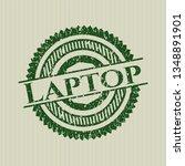 green laptop rubber seal | Shutterstock .eps vector #1348891901