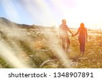 couple man and woman... | Shutterstock . vector #1348907891