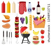 different special tools and...   Shutterstock .eps vector #1348913711