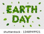 vector spring realistic green...   Shutterstock .eps vector #1348949921