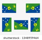 illustrated country flag... | Shutterstock .eps vector #1348959464