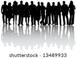 business people | Shutterstock .eps vector #13489933