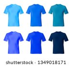 shirt design vector template.... | Shutterstock .eps vector #1349018171