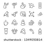 set of skin icons  such as... | Shutterstock .eps vector #1349050814