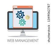 vector illustration of web...   Shutterstock .eps vector #1349062787