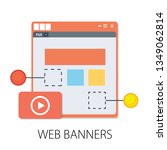 vector illustration of website...