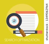 vector search optimization... | Shutterstock .eps vector #1349062964