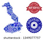 best service composition of... | Shutterstock .eps vector #1349077757