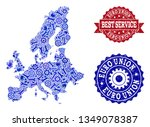 best service composition of... | Shutterstock .eps vector #1349078387