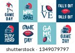 set of vector engraved style... | Shutterstock .eps vector #1349079797