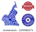 best service composition of... | Shutterstock .eps vector #1349080271