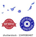 best service composition of... | Shutterstock .eps vector #1349080487