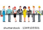 business people teamwork... | Shutterstock .eps vector #1349105501