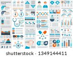 medical infographic elements... | Shutterstock .eps vector #1349144411