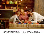 private teaching concept.... | Shutterstock . vector #1349225567