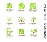trees logo set | Shutterstock .eps vector #1349226161