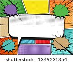 comic page great template with...   Shutterstock .eps vector #1349231354