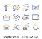 verify  present box and medical ... | Shutterstock .eps vector #1349265761