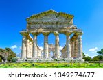 temple of athena at famous... | Shutterstock . vector #1349274677