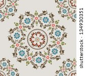 beautiful orient style seamless ... | Shutterstock .eps vector #134930351