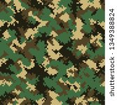 camouflage pattern background... | Shutterstock .eps vector #1349388824