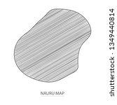 scribble sketch of nauru map...   Shutterstock .eps vector #1349440814