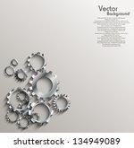 gears background   Shutterstock .eps vector #134949089