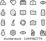 bold stroke vector icon set  ... | Shutterstock .eps vector #1349582774