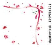 carnation bouquet of carnation  ... | Shutterstock .eps vector #1349586521