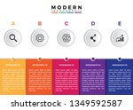 modern business data...   Shutterstock .eps vector #1349592587