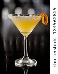 beautiful cocktail served on a... | Shutterstock . vector #134962859