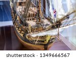 Galleon Model Detail Made Of...