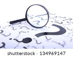 A Magnifying Glass Searching...