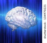 Stock photo brain puzzle 134970221