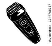 waterproof electric shaver icon....   Shutterstock . vector #1349768357