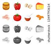 vector illustration of taste... | Shutterstock .eps vector #1349793614